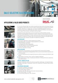 Dalic Selective Electroplating