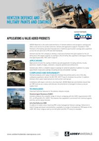 Hentzen Defence & Military Coatings