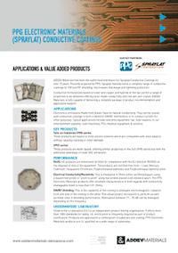 PPG Spraylat Conductive Coatings